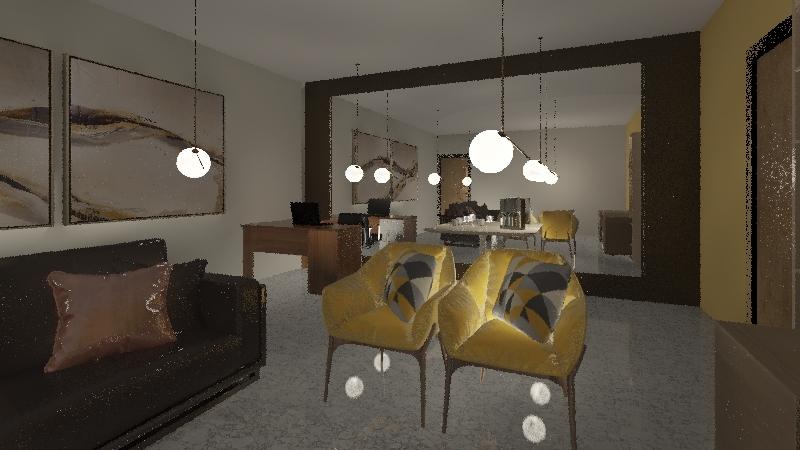 Padre Velloso Interior Design Render