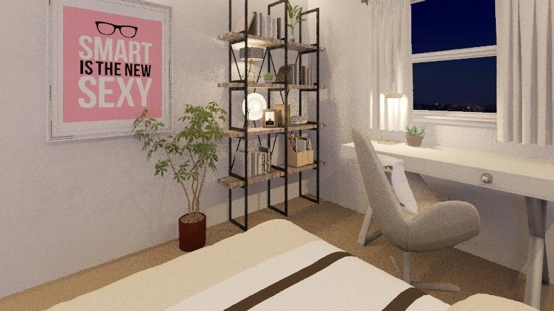 bedroom2 2019 Interior Design Render