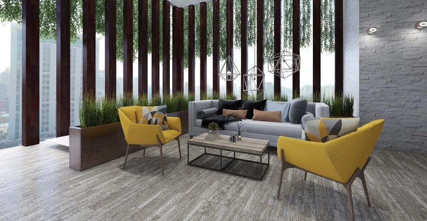 Hospedaje De paso Interior Design Render