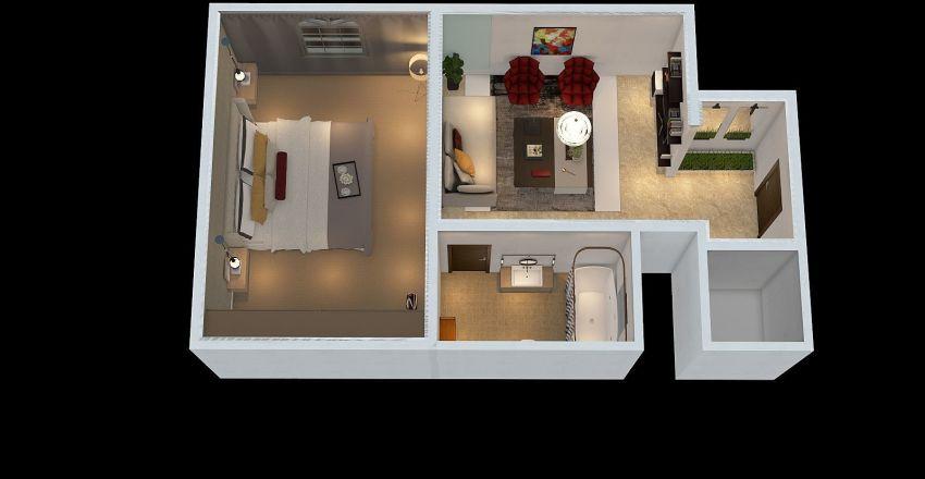 فندق ابو وليد Interior Design Render