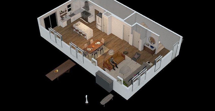 1st Floor Plan B2 Interior Design Render