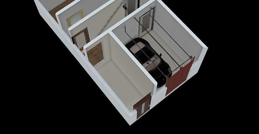 casa foiano Interior Design Render