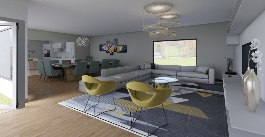 casa bia Interior Design Render