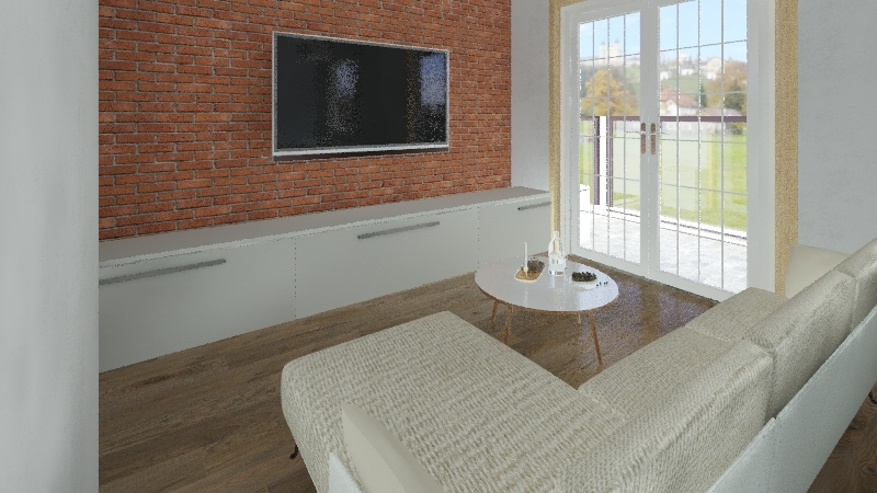 leszczynowo Interior Design Render