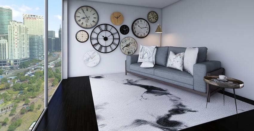 Holiday home... Interior Design Render