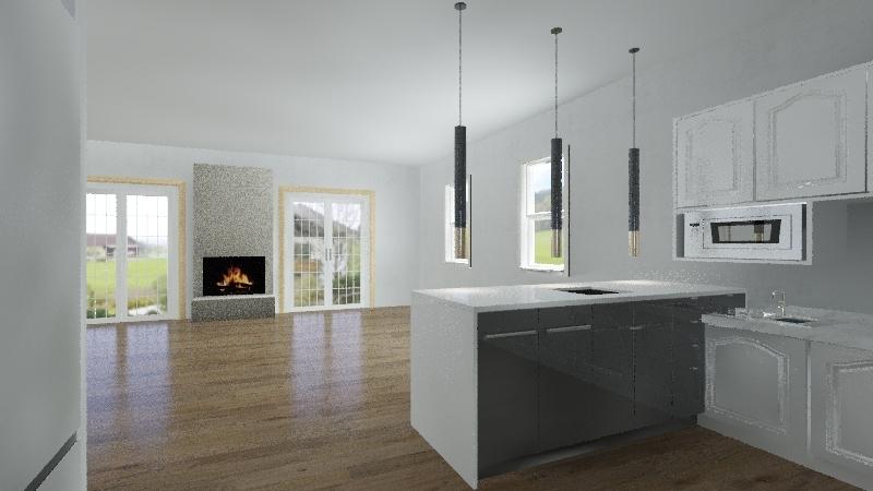 677 Scott Cir - Final Layout - B Open Interior Design Render