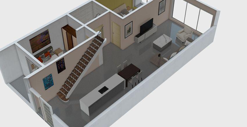 Bodrum C tipi 3+1 Interior Design Render
