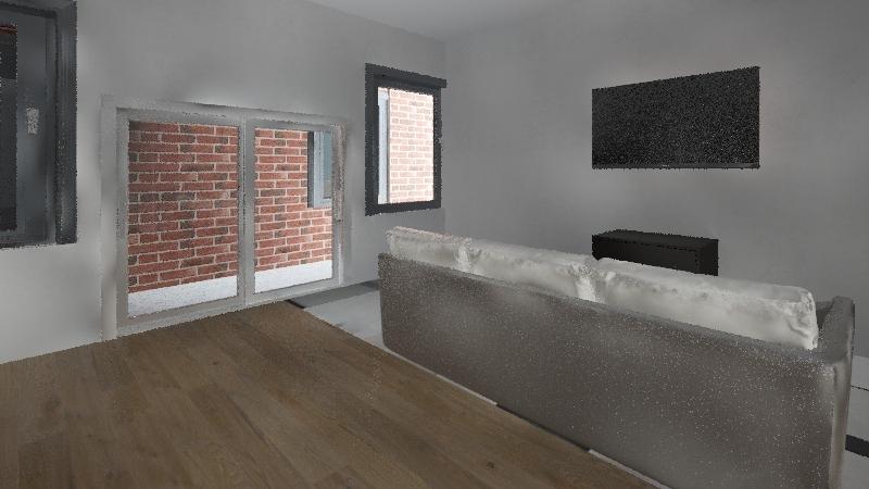 Modernized home Interior Design Render
