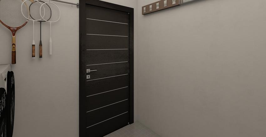 Loft Living_03: Merry Christmas! Interior Design Render