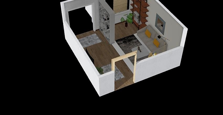 moj 1 projekt Interior Design Render