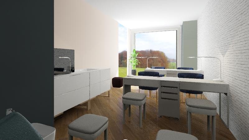 RU Nail Room v1 Interior Design Render