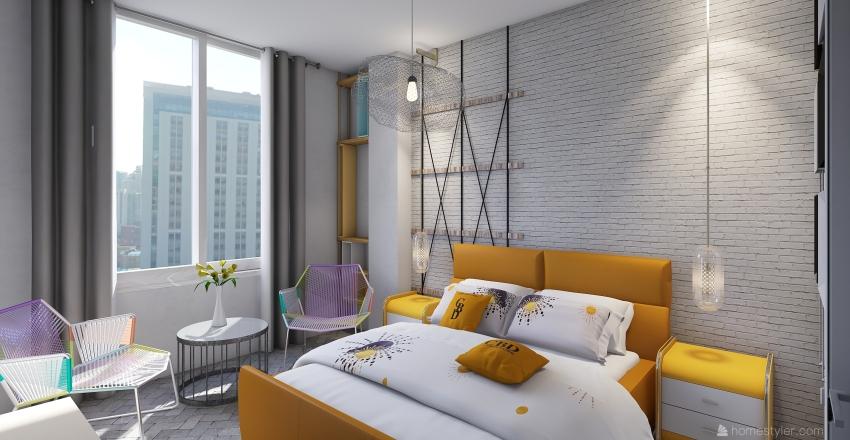 my home6 Interior Design Render
