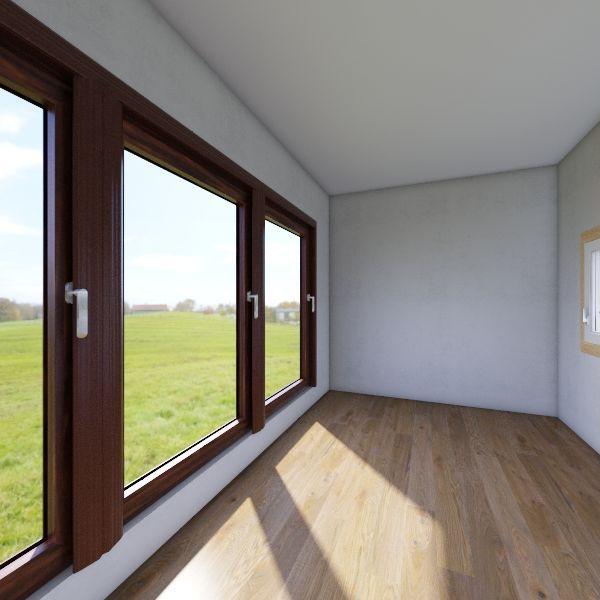 20 feet container home Interior Design Render