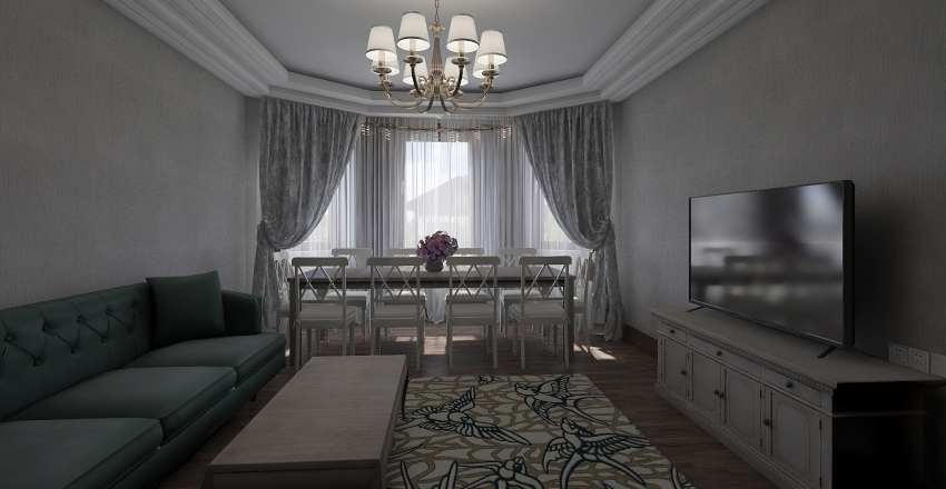 buzovna Interior Design Render