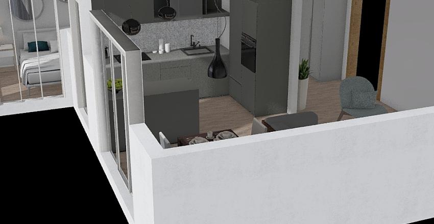 Mieszkanie v 1 Interior Design Render
