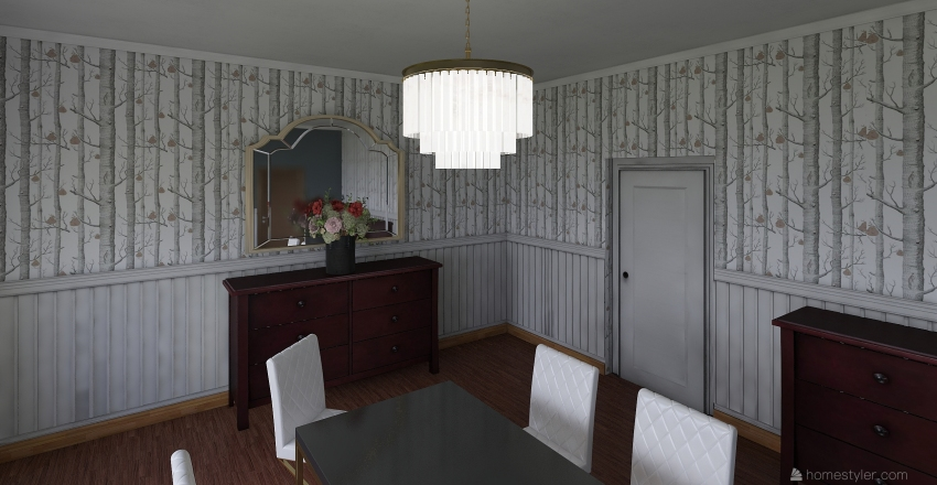 Dining Room Idea Interior Design Render