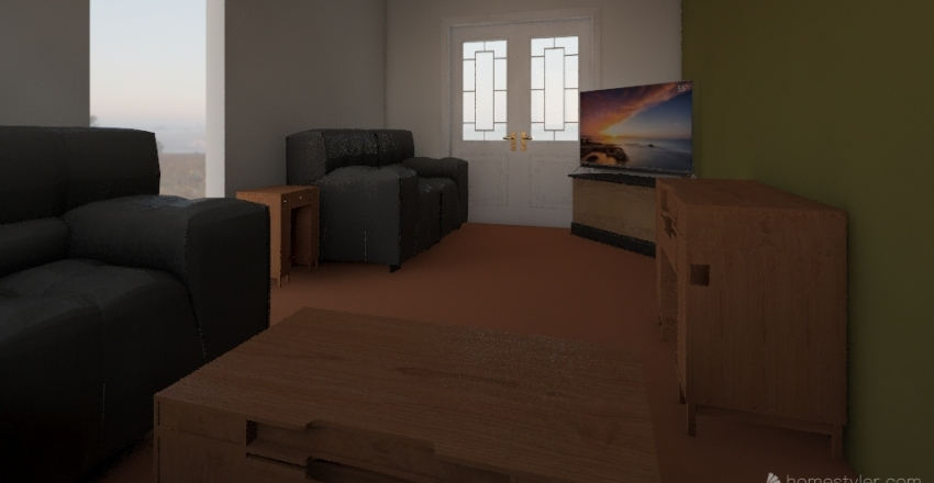 Lounge 1 Interior Design Render
