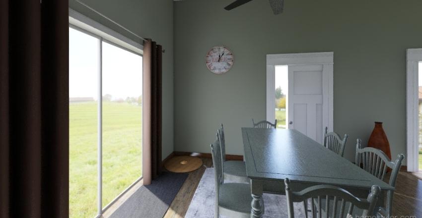 malia design challange Interior Design Render