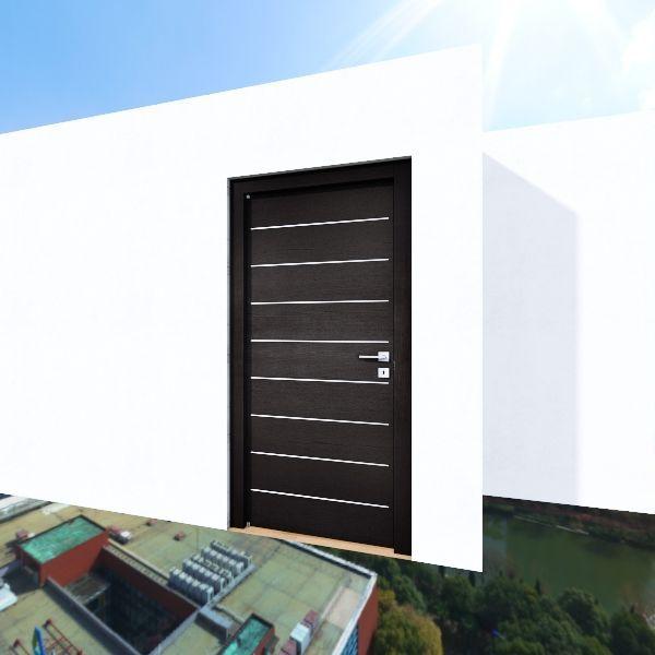 Industrial/Contemporary Apartment Interior Design Render
