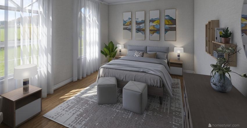 Holly Road Home Interior Design Render
