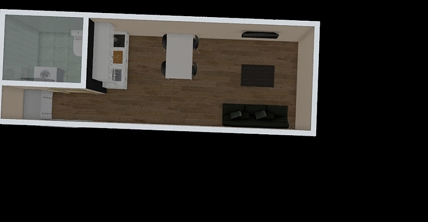 Prostor za stari lica Interior Design Render