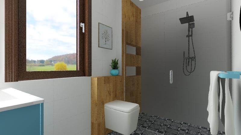 dudziak łazieka nowa Interior Design Render