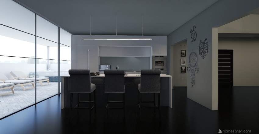 casa SAP & DVN Interior Design Render