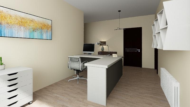 Despacho Interior Design Render