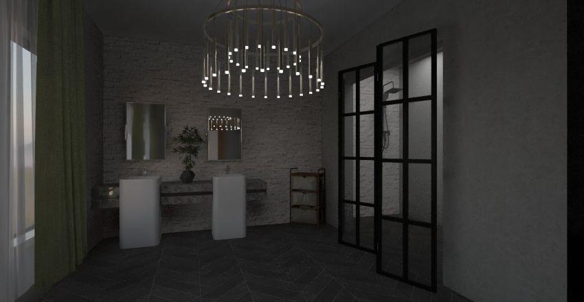 ana's new modern home Interior Design Render