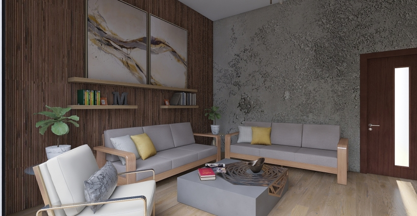 CASA GARCIA ORIGINAL Interior Design Render