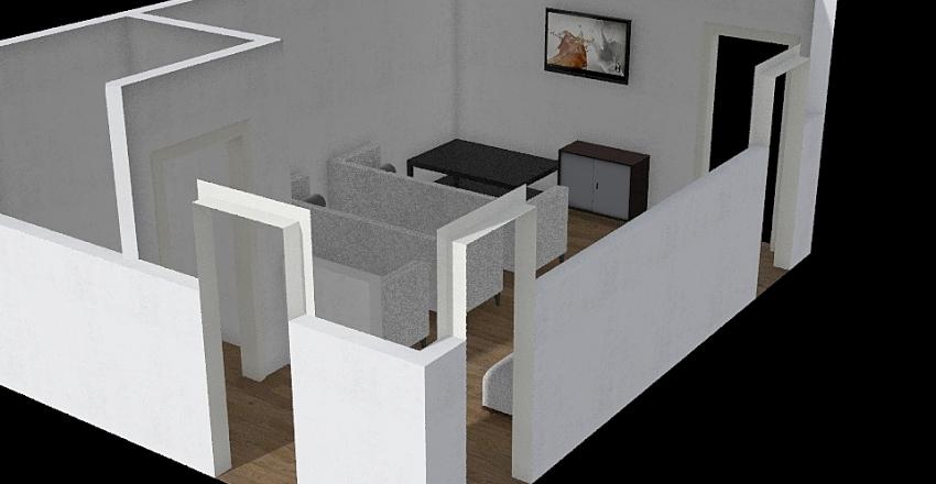 Heli Lounge Interior Design Render