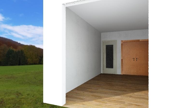 Casa tabuleiro Interior Design Render