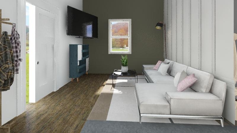 Julie Gamez - Design Challenge Interior Design Render