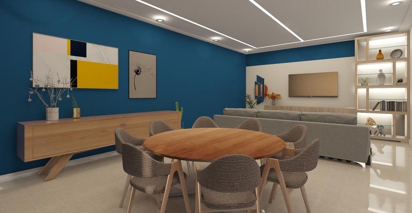 jantar natal Interior Design Render