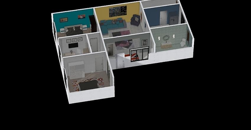 somcuta master Interior Design Render