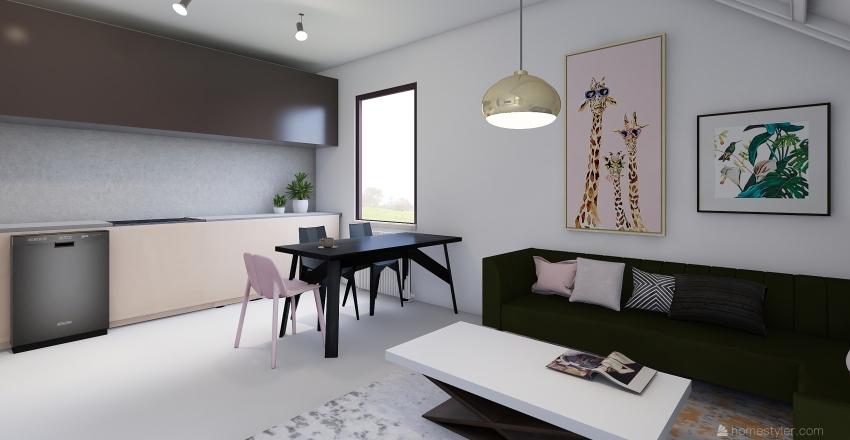 moje mieszkanie dupa Interior Design Render
