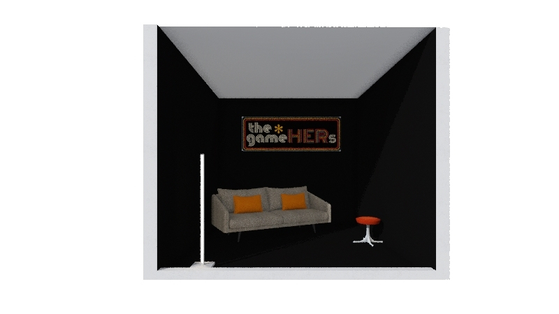 gameHERs Interior Design Render