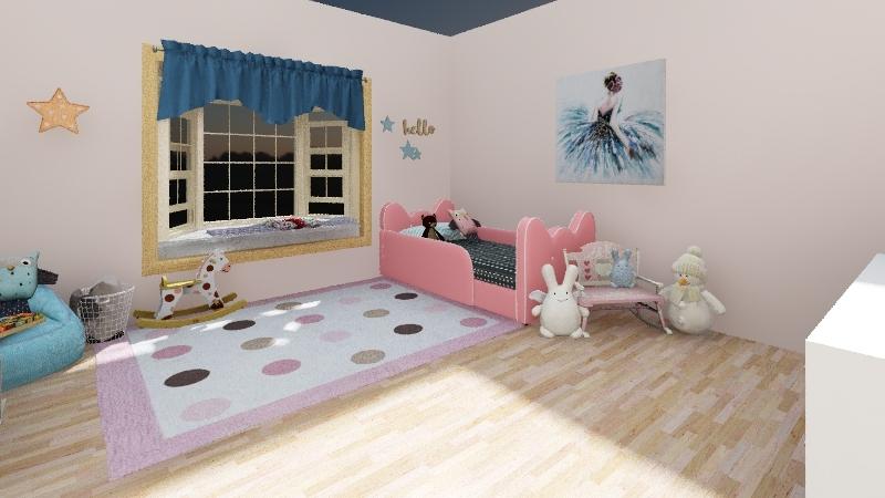 Nella's Room Interior Design Render