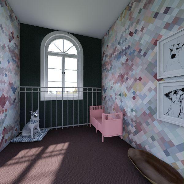modern delight Interior Design Render