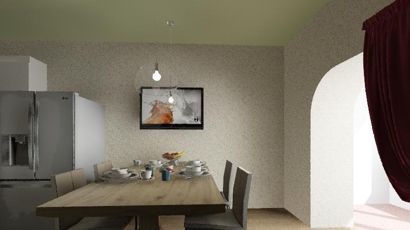 123 вся квартира Interior Design Render