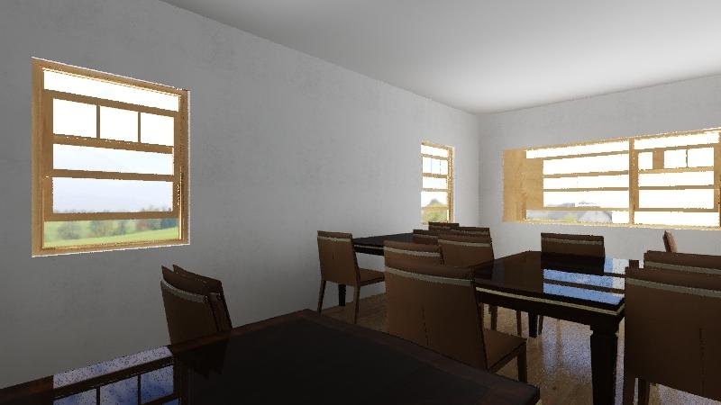 School deign  Interior Design Render