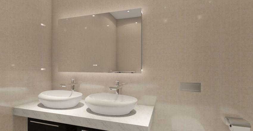 Penthouse Suite Interior Design Render