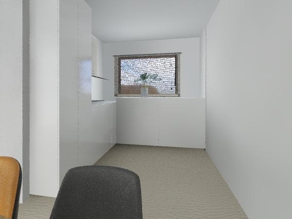 kuchnia prawa pusta Interior Design Render