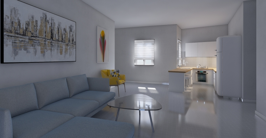 Papagou 149 new Interior Design Render
