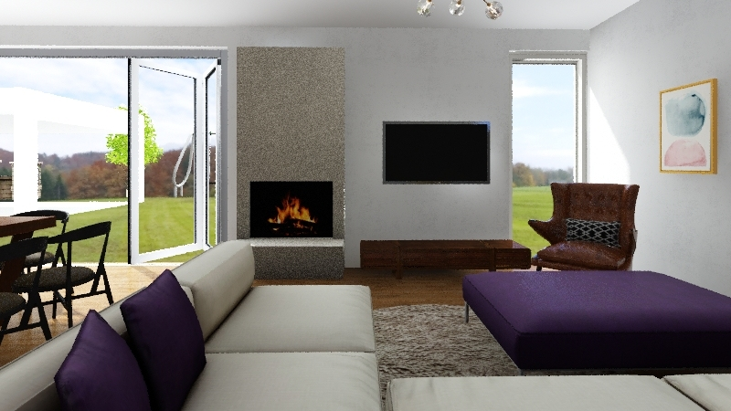 hiša 2020 Interior Design Render