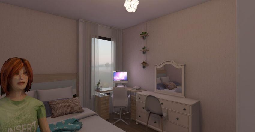 mi cuarto del futuro Interior Design Render