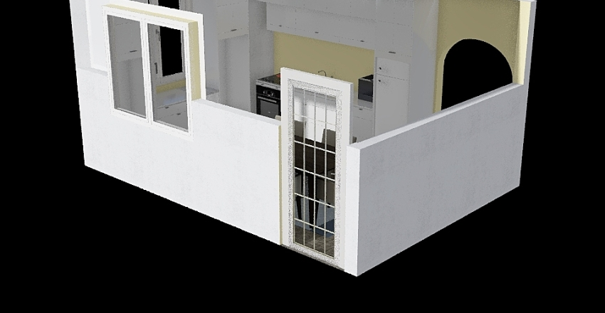Bucatarie noua Interior Design Render