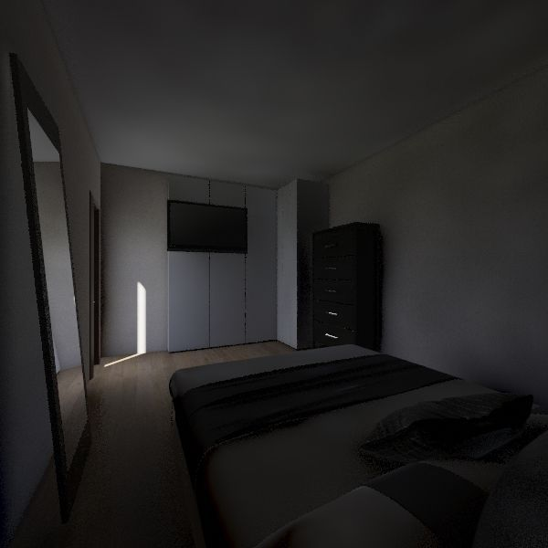 Bedrooms Interior Design Render