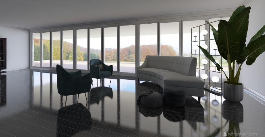 Man Interior Design Render