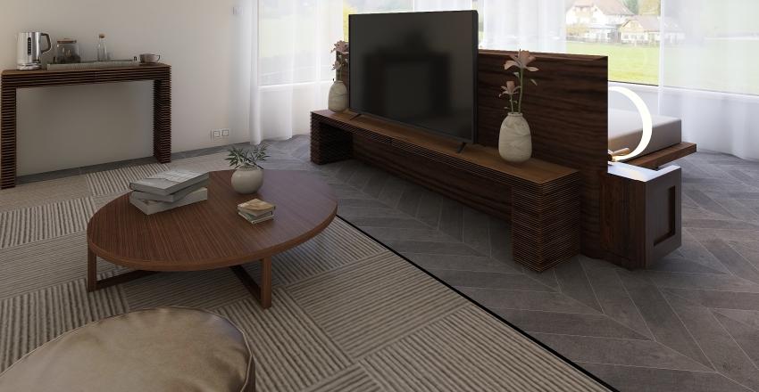 Junior Suite Interior Design Render